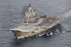 Rusia mulai gunakan kapal induk untuk perang di Suriah