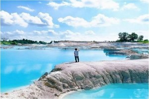 Menjelajahi tiga instagramable spot di negeri laskar pelangi