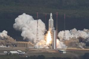 Eropa luncurkan empat satelit untuk sistem Satnav Galileo