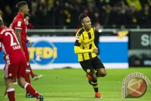 Aubameyang antar Dortmund tundukkan Muenchen 1-0
