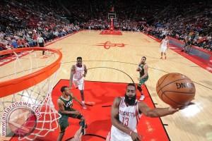 """Harden """"triple-double"""", Rockets bekuk Kings 132-98"""