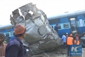 91 killed, over 150 injured in train accident in Northern India