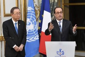"""Ban Ki-moon terima anugerah """"Legion of Honour"""" dari Prancis"""