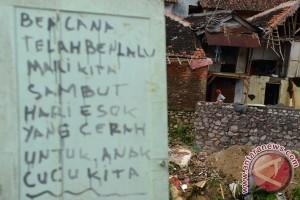 Relokasi Korban Banjir Bandang Garut