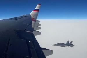 Rusia mengeluh jet tempur Swiss iringi pesawatnya