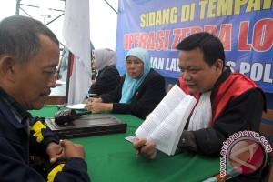 Angka pelanggaran lalu-lintas di Banten turun
