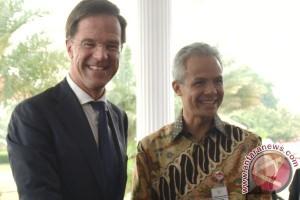 Kunjungan PM Belanda Di Semarang