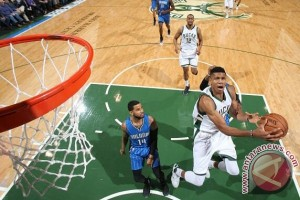 "Bucks bekuk Magic 93-89 berkat ""triple-double"" Antetokounmpo"