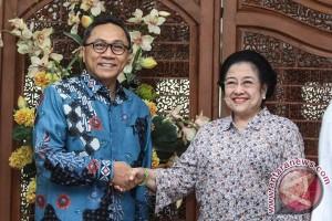 Pertemuan Megawati Soekarnoputri Dan Zulkifli Hasan