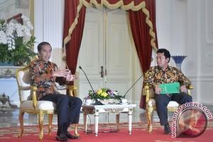 Presiden Bertemu Dengan Romahurmuziy