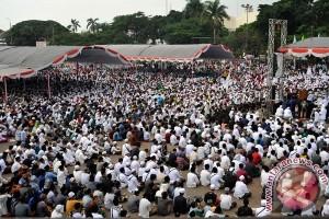 Ribuan muslimin Pamekasan gelar istighatsah