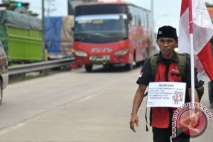 Jalan Kaki Bali-Jakarta Untuk NKRI