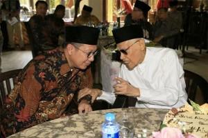 Menag Bersama KH Ali Yafie
