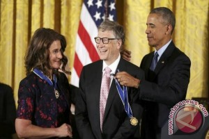 "Presiden Obama anugerahi 21 tokoh AS ""Presidential Medal of Freedom"""