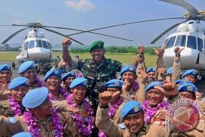 Penyambutan Pasukan Perdamaian Dunia