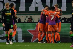 Imbangi Gladbach 1-1, City dampingi Barcelona ke 16 besar