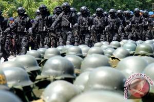 Gelar Pasukan Pengamanan Kunjungan Presiden