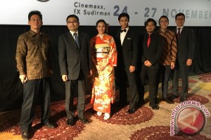 Pembukaan Japanese Film Festival 2016 (Video)