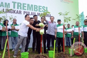Djarum Foundation tanam 6.152 trembesi di Madura
