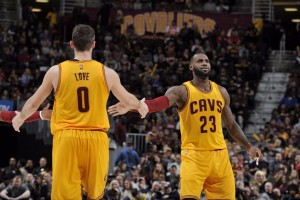 """Big Three"" raup 80 poin, Cavaliers bekuk Suns 120-116"
