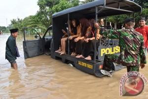Belasan rumah di Ngawi terendam luapan Bengawan Solo