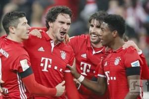 Muenchen bekuk Leverkusen 2-1