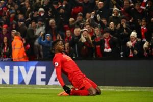 Origi pimpin Liverpool ladeni Burnley