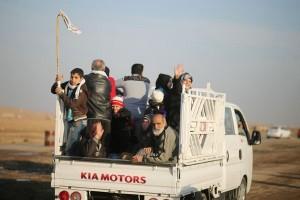 15.000 anak mengungsi dari Mosul Barat dalam sepekan