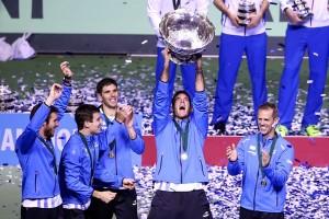 Argentina taklukkan Kroasia untuk raih gelar piala Davis