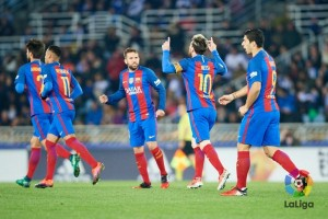 Hasil dan klasemen La Liga, Barcelona kian jauh dari Madrid
