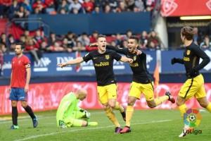 Atletico bungkam Osasuna 3-0 dan naik ke peringkat empat