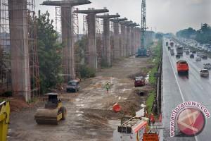 Progres Proyek LRT Jakarta