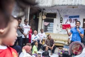 Kampanye Cawagub Sandiaga Uno