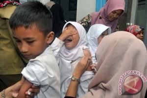 Satu dari 10 anak tidak diimunisasi