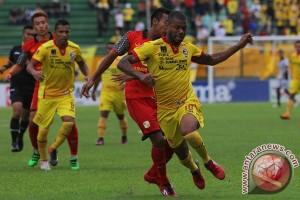 Sriwijaya FC ditahan imbang Barito Putera
