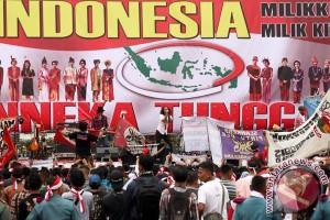 Ribuan warga Lebak komitmen cinta empat pilar kebangsaan