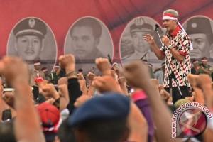 Warga Semarang ikuti Apel Nusantara Bersatu di lapangan Simpang