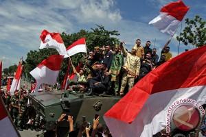Ribuan orang berikrar kebhinnekaan di Monumen Arek Lancor Pamekasan