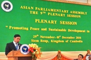 Pandangan delegasi DPR RI di Asian Parliamentary Assembly