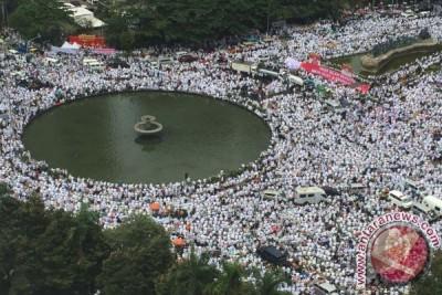 Polri apresiasi massa ikuti doa bersama