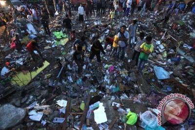 Reruntuhan Gempa Di Pidie Jaya