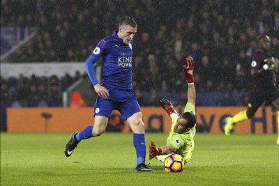 Vardy cetak gol saat Leicecter kalahkan West Brom