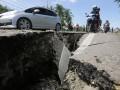 Jalan Rusak Akibat Gempa