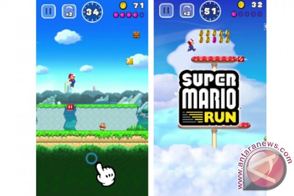 Super Mario Run Akan Muncul Di IPhone