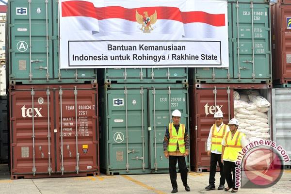 Jokowi berharap segera tercipta kedamaian di Rakhine