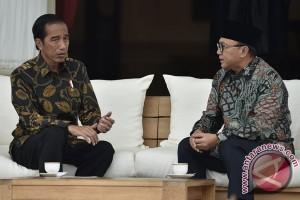 Presiden bahas konsolidasi kebangsaan dengan Ketua MPR