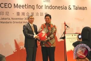 Menteri perindustrian ajak Taiwan jadikan Indonesia basis produksi mesin