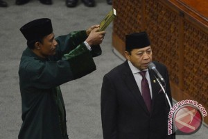 Novanto janji kerja keras dan kuatkan presidensial