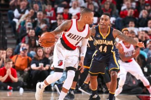 """Double-double"" Damian Lillard antar Blazers pecundangi Pacers 131-109"