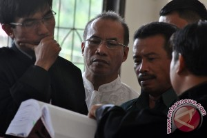 Sidang Korupsi SPPD Fiktif DPRD Bangkep